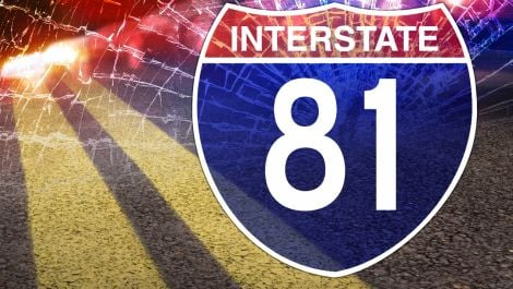 Reported Dead Following I-81 Crash Near Pulaski