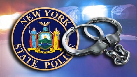 State police arrest 2 Caption