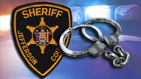 Jefferson County sheriff handcuffs arrest Caption