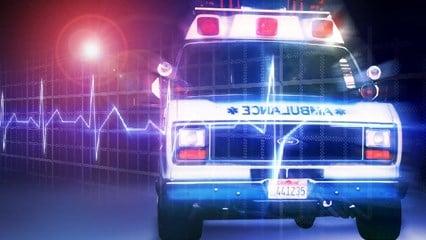 Ambulance wide Caption