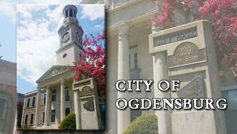 Ogdensburg City Hall Caption