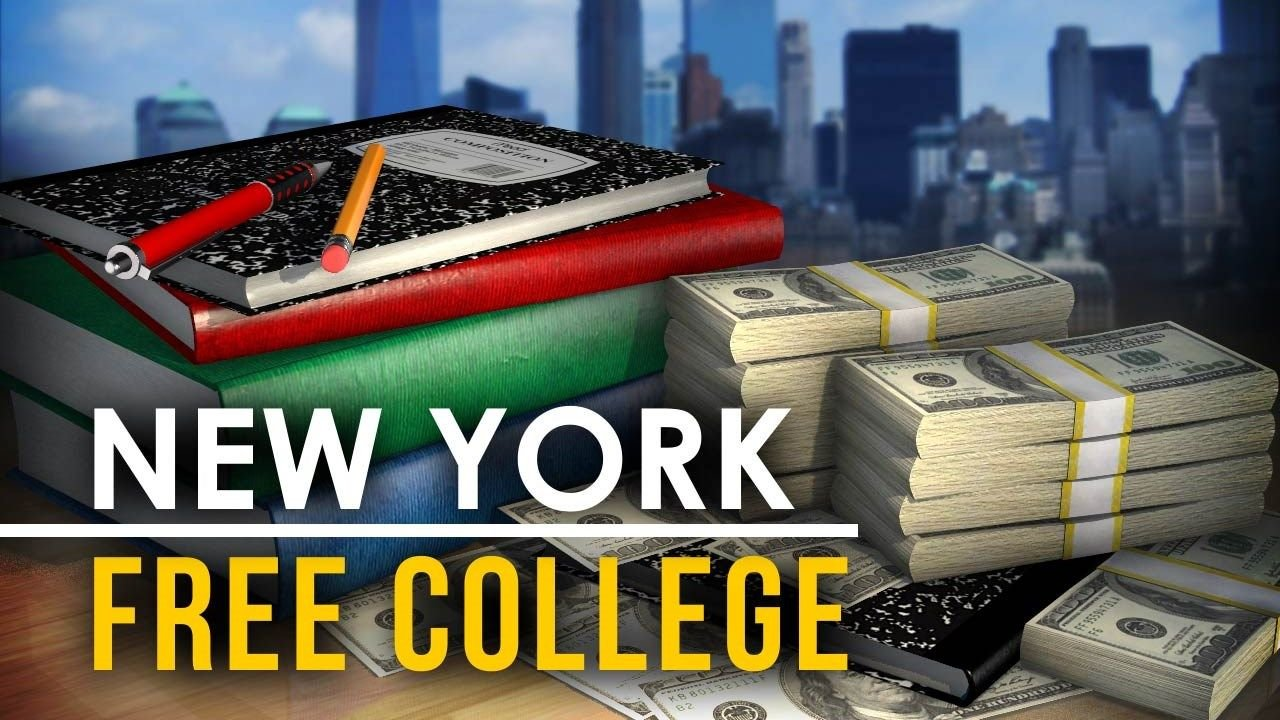 NY Becomes 1st State to OK Tuition-Free College at Public Institutions