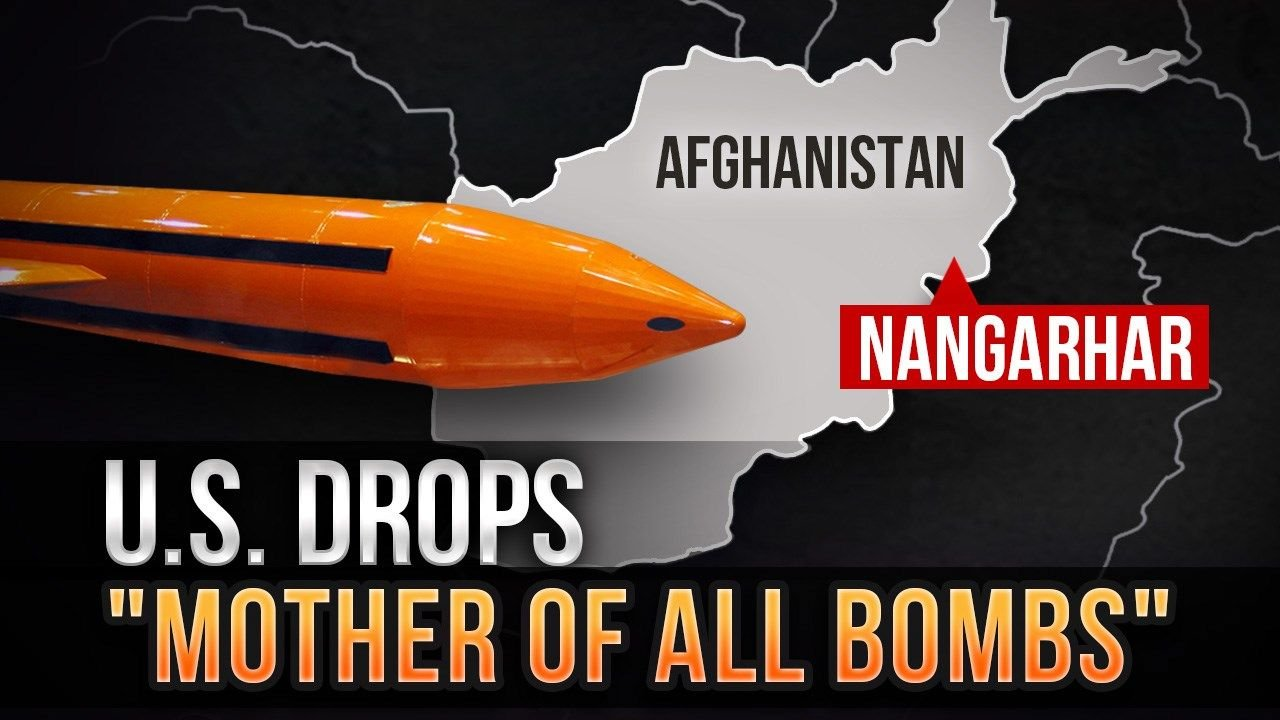 The US Just Dropped the 'Mother of All Bombs' on ISIS