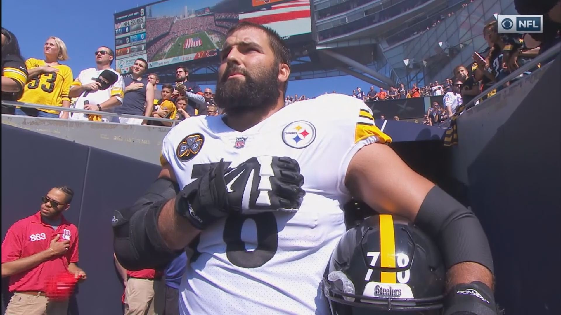 Ben Roethlisberger regrets Steelers' decision to miss national anthem