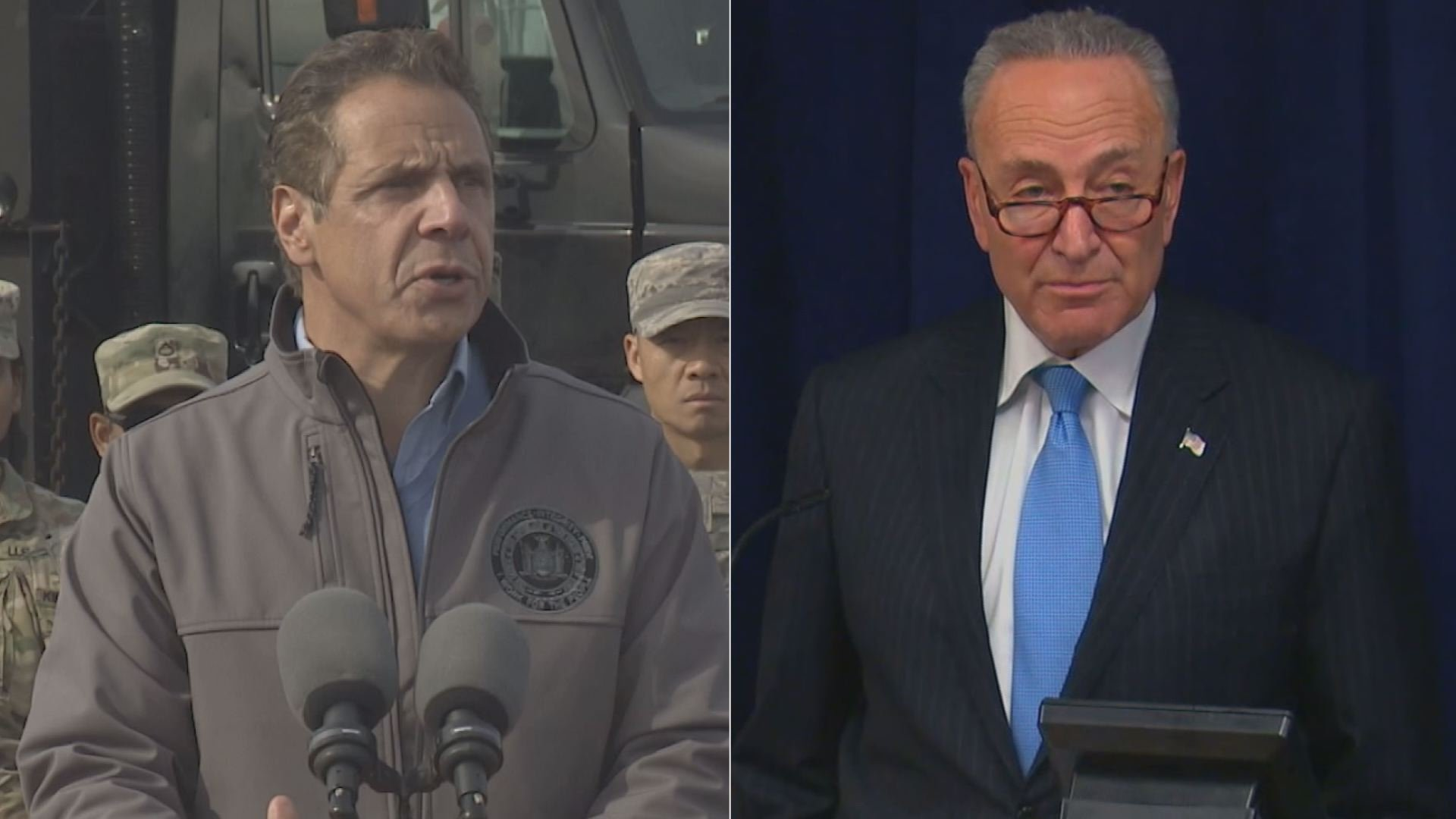 Schumer, Cuomo Team Up Again To Denounce Federal GOP Tax Plan