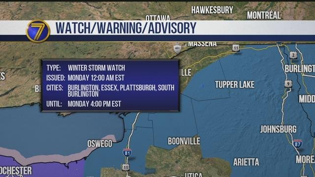 Blizzard warning issued for coastal Rockingham County