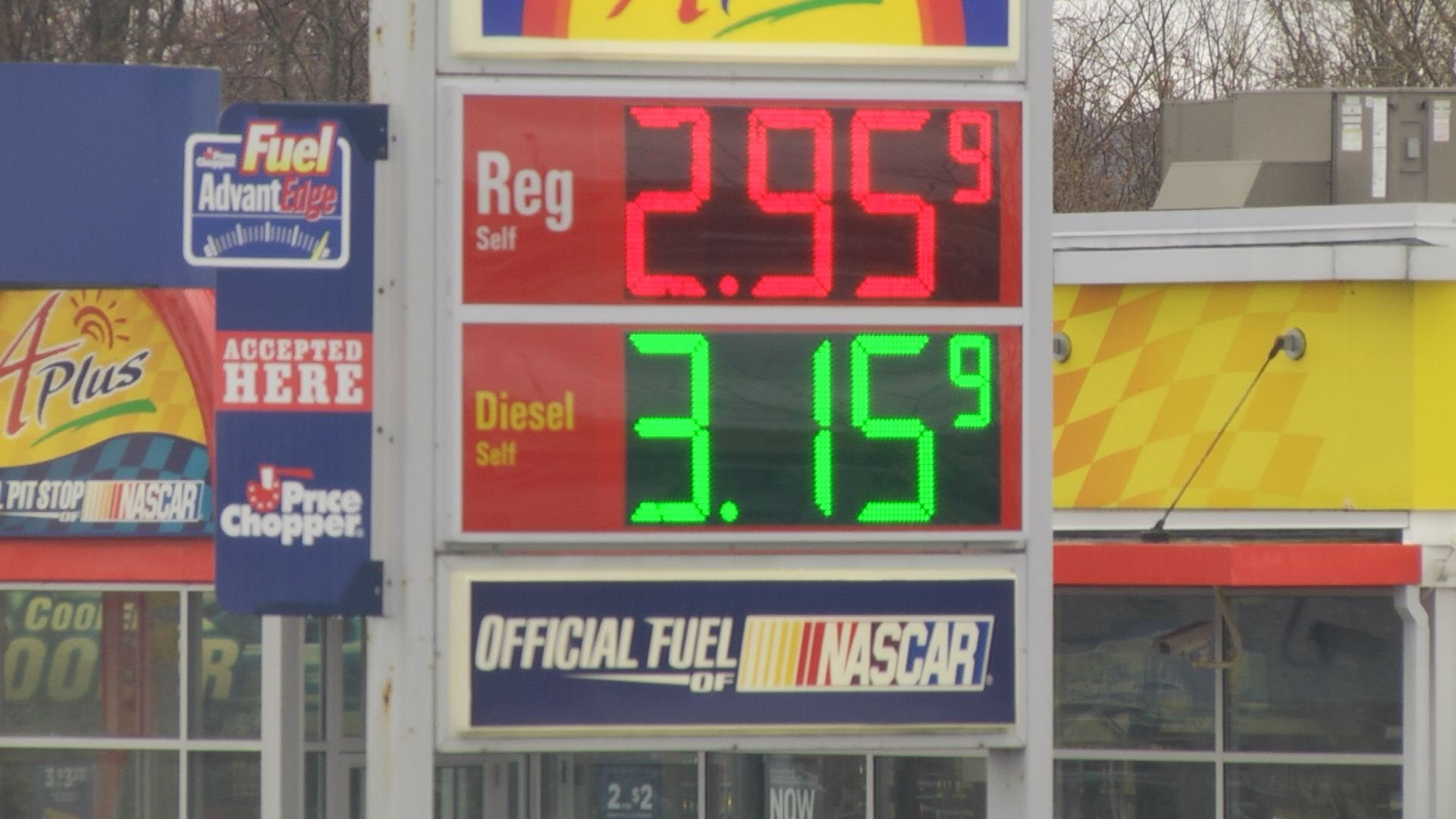 Gas prices set four-year record high in April