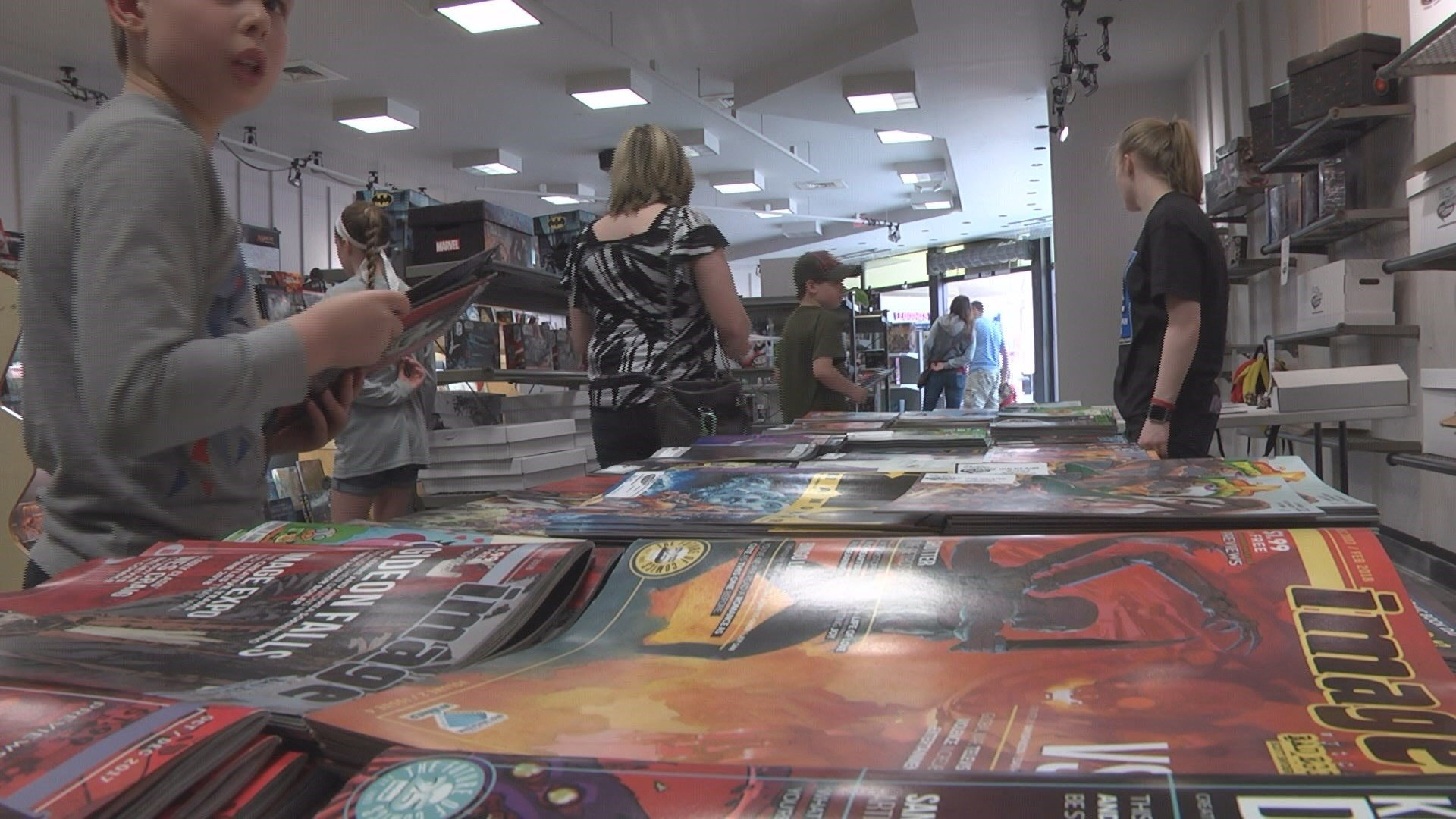 Comics Plus of Macon preparing for Free Comic Day this weekend