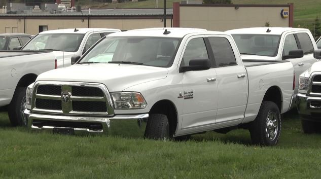 More Than 100 Pickup Trucks Line The Parking Lot And Field Behind Pleasant Night Inn In West Carthage