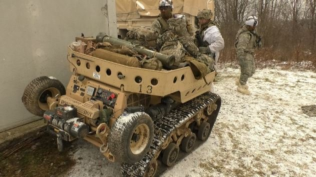 Fort Drum Tests New Robotic Technology