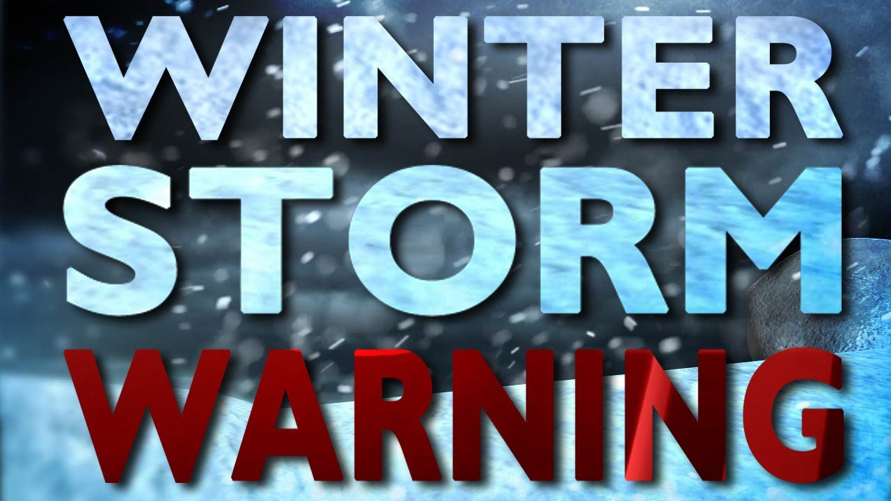 Winter Storm Warning: Winter Storm Warnings Posted Across North Country