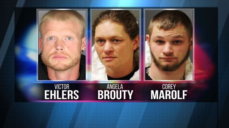 Three Charged With Making Meth In Lewis County One Held Without Bail